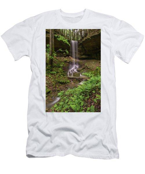Alcorn Falls. Men's T-Shirt (Athletic Fit)
