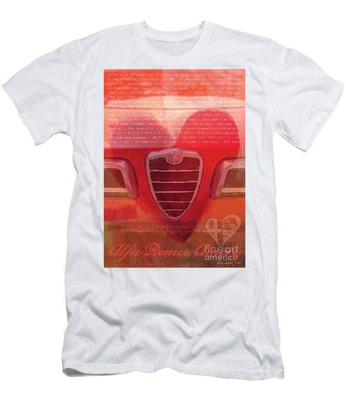 Alfa Romeo Valentine Men's T-Shirt (Athletic Fit)