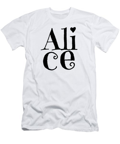 Alice Men's T-Shirt (Athletic Fit)