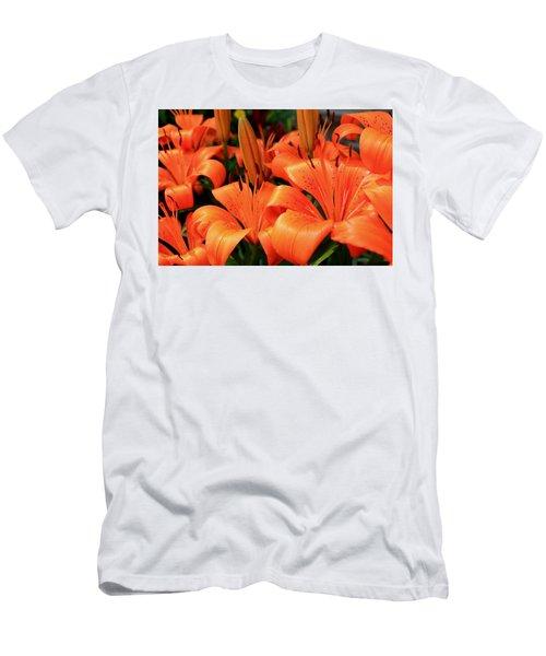 All Consuming Orange Men's T-Shirt (Athletic Fit)