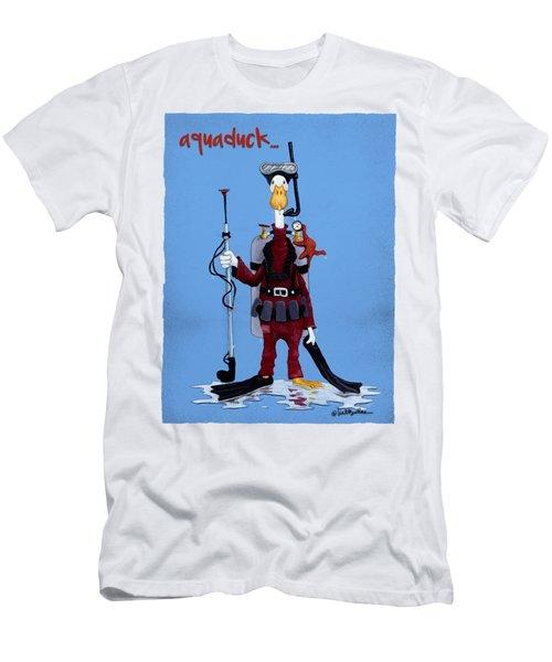 Aquaduck... Men's T-Shirt (Athletic Fit)