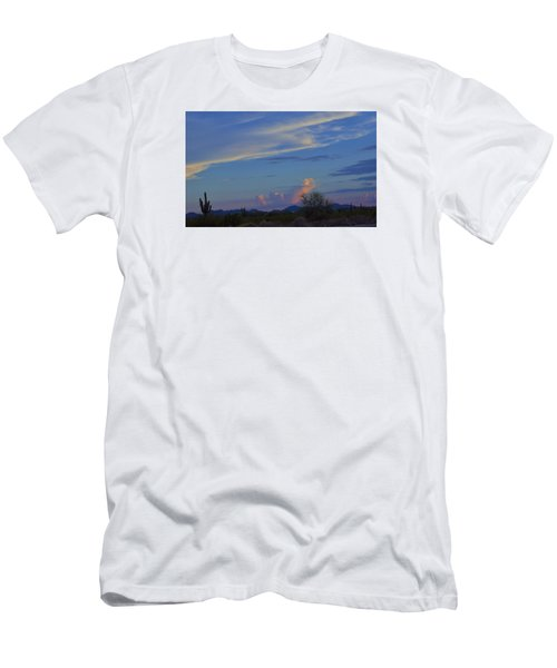 Arizona Desert Men's T-Shirt (Slim Fit) by Helen Haw