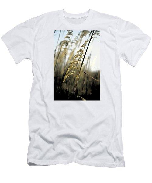 Artistic Grass - Pla377 Men's T-Shirt (Slim Fit) by G L Sarti