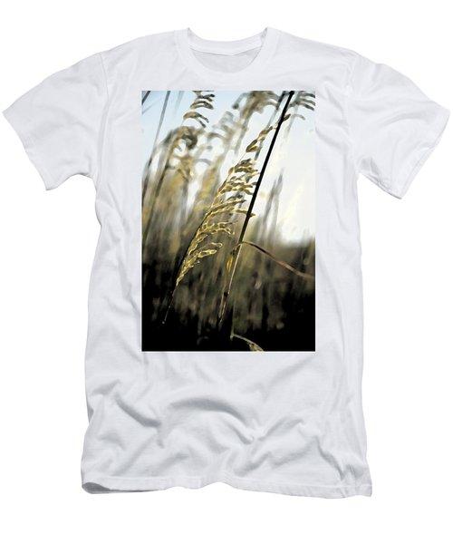 Artistic Grass - Pla377 Men's T-Shirt (Athletic Fit)