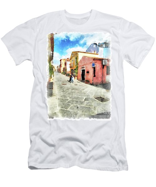 Arzachena Garibaldi Street Men's T-Shirt (Athletic Fit)