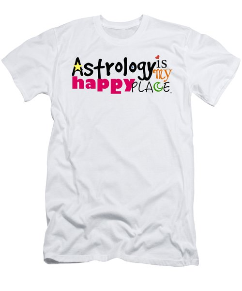 Astrology Is My Happy Place Men's T-Shirt (Athletic Fit)