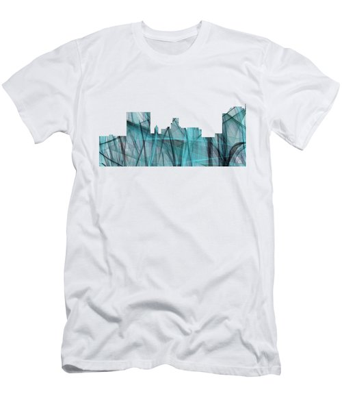 Augusta Georgia Skyline Men's T-Shirt (Athletic Fit)