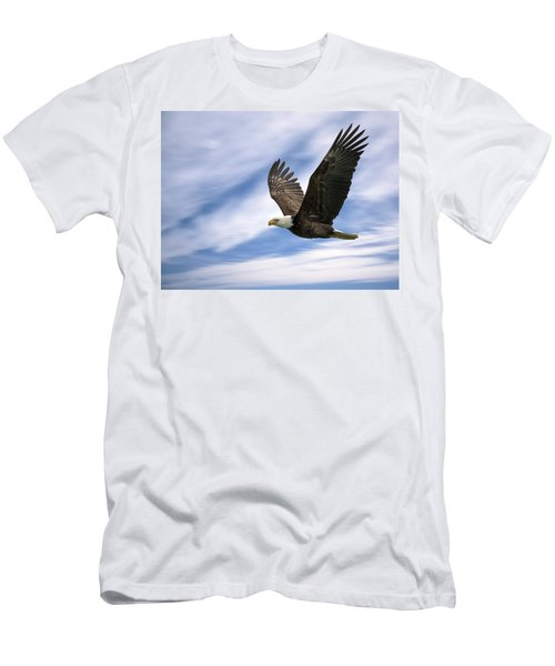 Bald Eagle - 365-12 Men's T-Shirt (Athletic Fit)