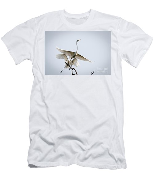 Ballet In The Sky Men's T-Shirt (Athletic Fit)