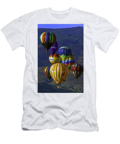 Balloons Over Reno Men's T-Shirt (Athletic Fit)