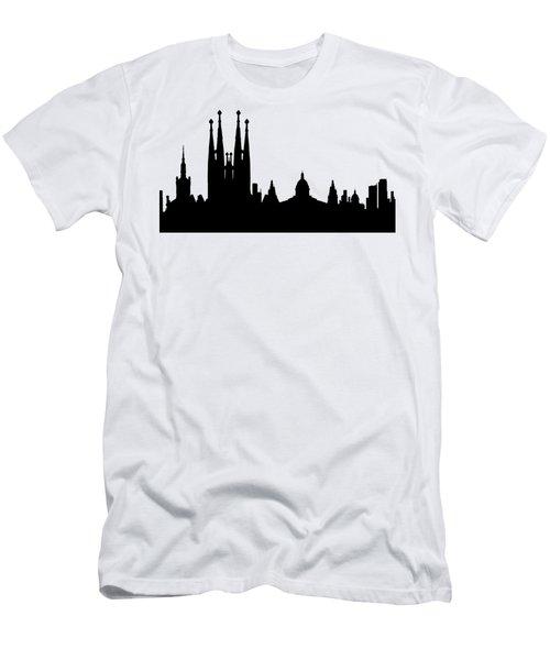 Barcelona Men's T-Shirt (Athletic Fit)