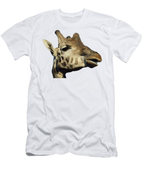 Baringo Giraffe Men's T-Shirt (Athletic Fit)