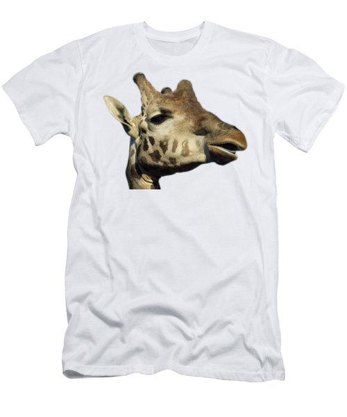 Baringo Giraffe Men's T-Shirt (Athletic Fit)