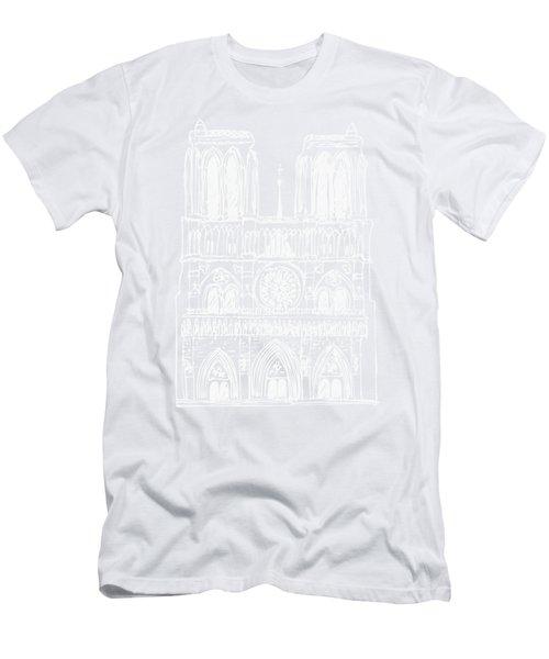 Basilica Notre Dame Men's T-Shirt (Athletic Fit)