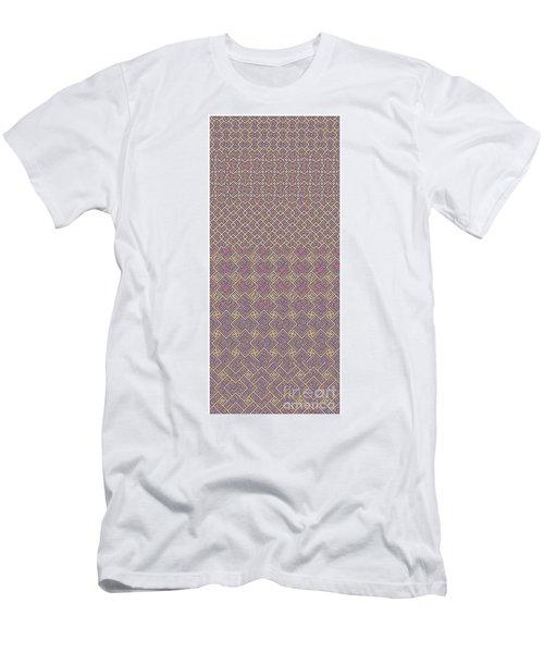 Bibi Khanum Ds Patterns No.6 Men's T-Shirt (Athletic Fit)