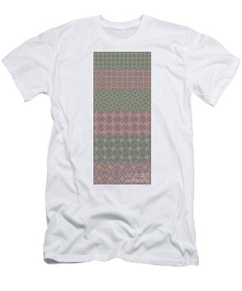 Bibi Khanum Ds Patterns No.9 Men's T-Shirt (Athletic Fit)