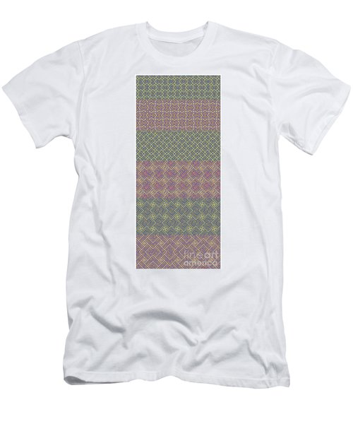 Bibi Khanum Ds Patterns No.9 Men's T-Shirt (Athletic Fit)
