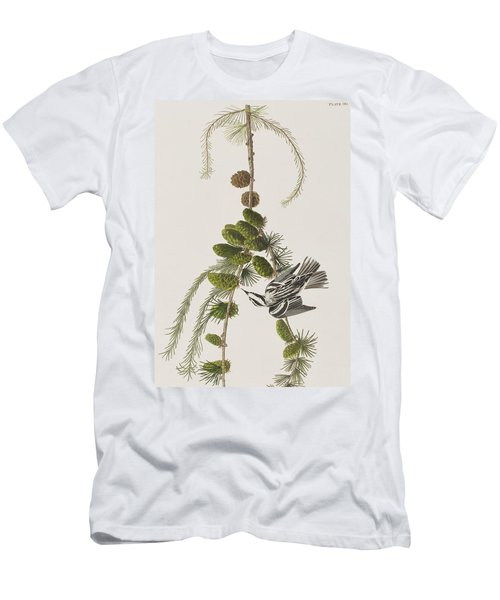 Black And White Creeper Men's T-Shirt (Athletic Fit)