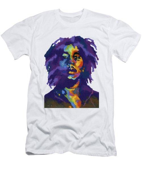 Bob Marley-for T-shirt Men's T-Shirt (Athletic Fit)