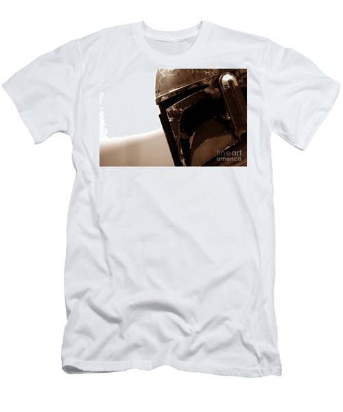 Boba Fett Helmet 33 Men's T-Shirt (Slim Fit) by Micah May