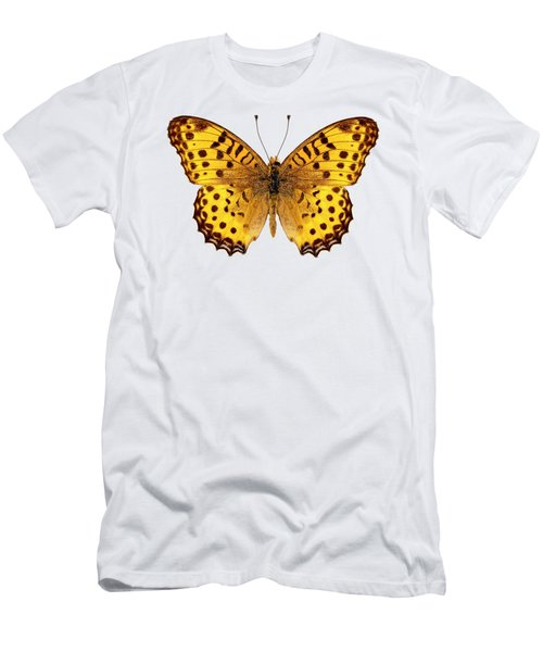 Butterfly Species Argynnis Hyperbius  Men's T-Shirt (Athletic Fit)