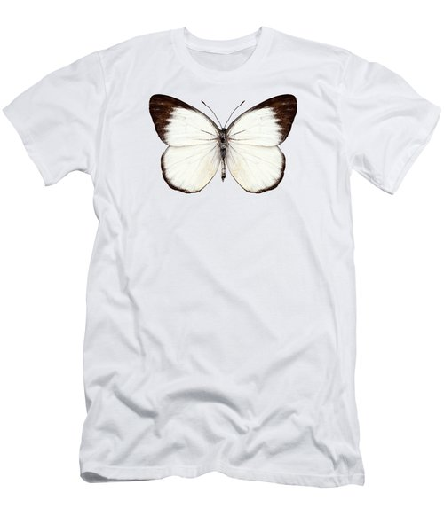 Butterfly Species Delias Belisama Men's T-Shirt (Athletic Fit)