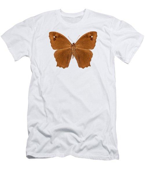 Butterfly Species Melanitis Leda  Men's T-Shirt (Athletic Fit)