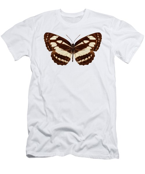 Butterfly Species Neptis Hylas  Men's T-Shirt (Athletic Fit)