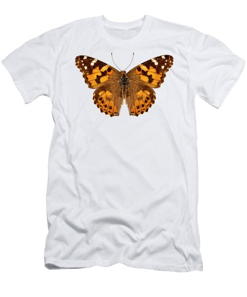 Butterfly Species Vanessa Cardui  Men's T-Shirt (Athletic Fit)