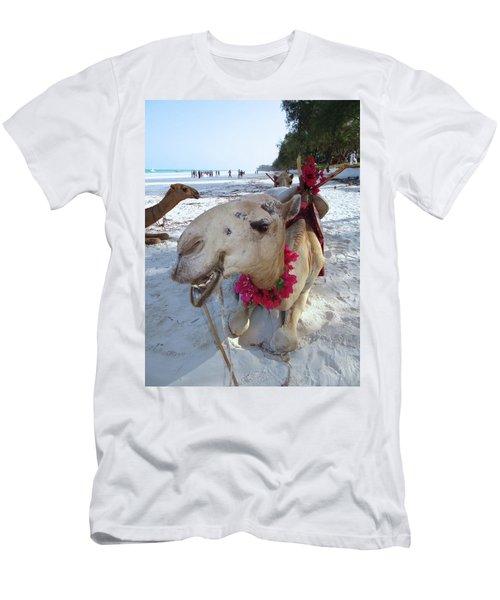 Camel On Beach Kenya Wedding3 Men's T-Shirt (Athletic Fit)
