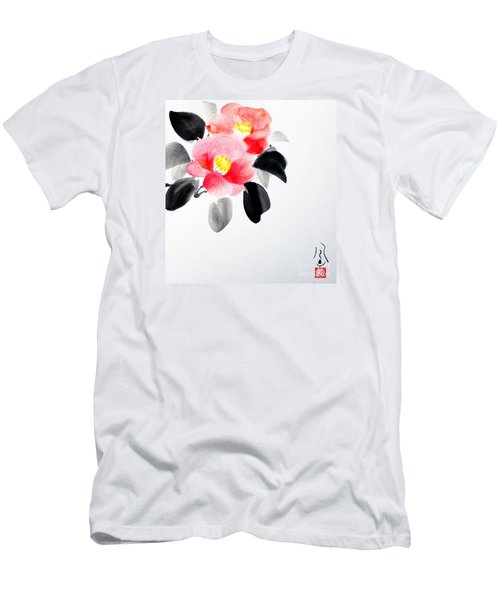 Camellia / Tsubaki Men's T-Shirt (Athletic Fit)