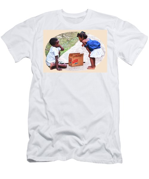 Caribbean Kids Illustration Men's T-Shirt (Athletic Fit)