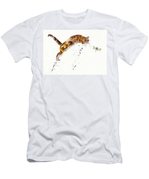 Chasing The Dragon Men's T-Shirt (Athletic Fit)