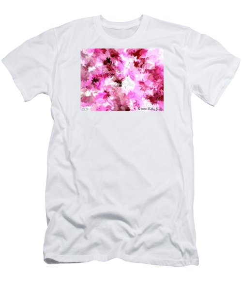 Men's T-Shirt (Slim Fit) featuring the painting Chillin It by Holley Jacobs