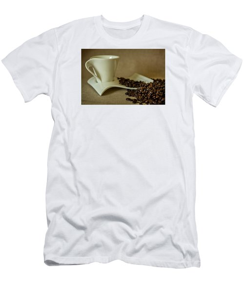 Coffee Time Men's T-Shirt (Slim Fit) by Sabine Edrissi