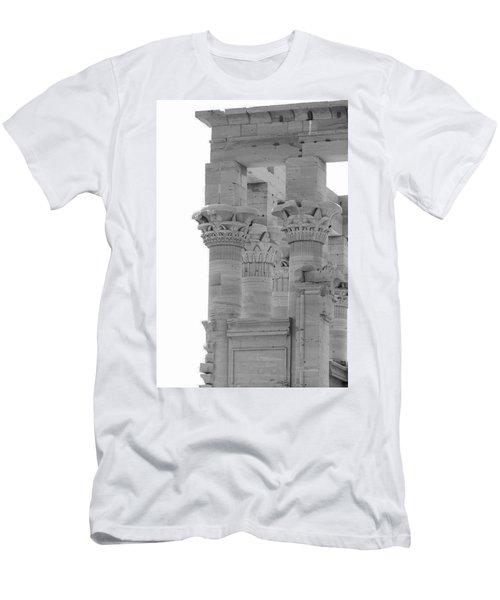 Columns Men's T-Shirt (Slim Fit) by Silvia Bruno