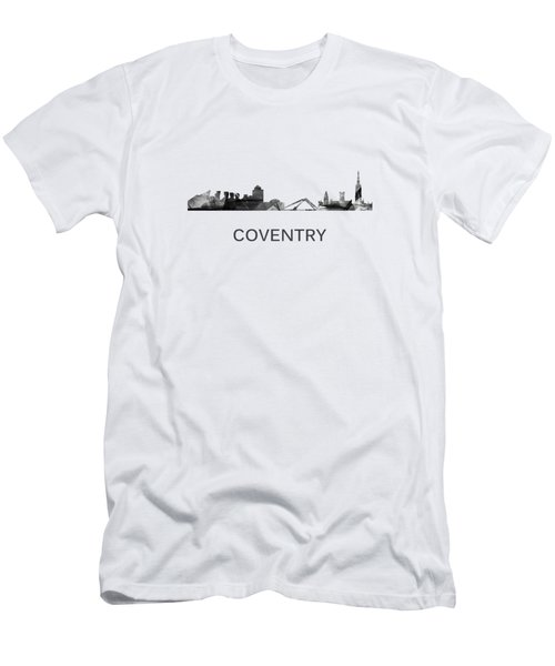 Coventry England Skyline Men's T-Shirt (Athletic Fit)