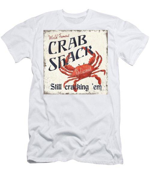 Crab Shack Men's T-Shirt (Athletic Fit)