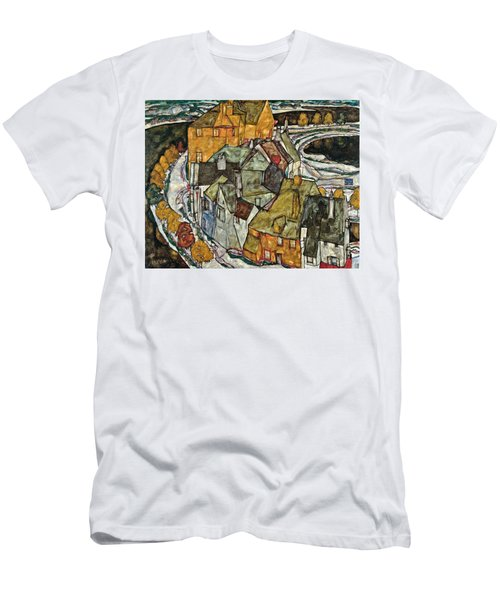 Crescent Of Houses II Island Town 1915 Men's T-Shirt (Athletic Fit)