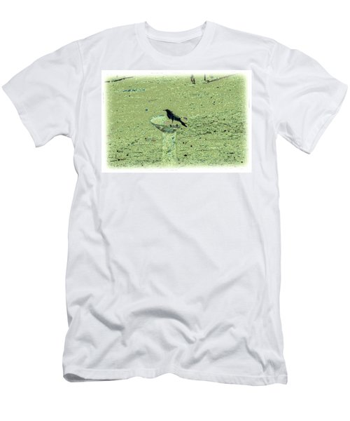 Crow And Bath Men's T-Shirt (Athletic Fit)