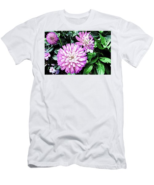Dahlia Men's T-Shirt (Slim Fit) by Cesar Vieira