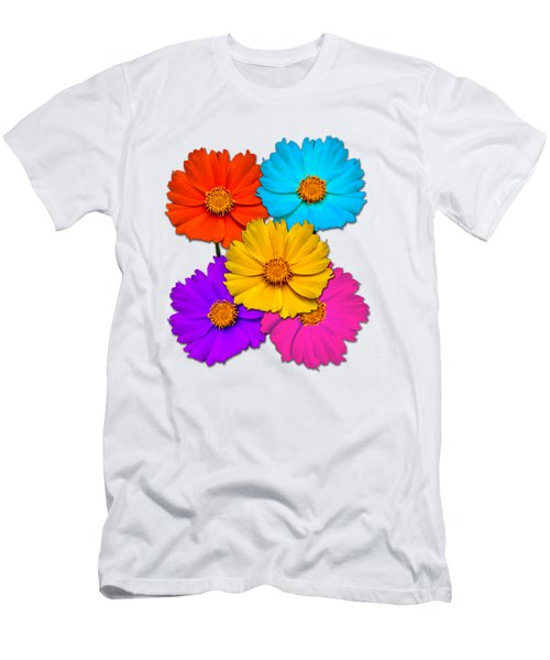 Daisy Pop Men's T-Shirt (Athletic Fit)