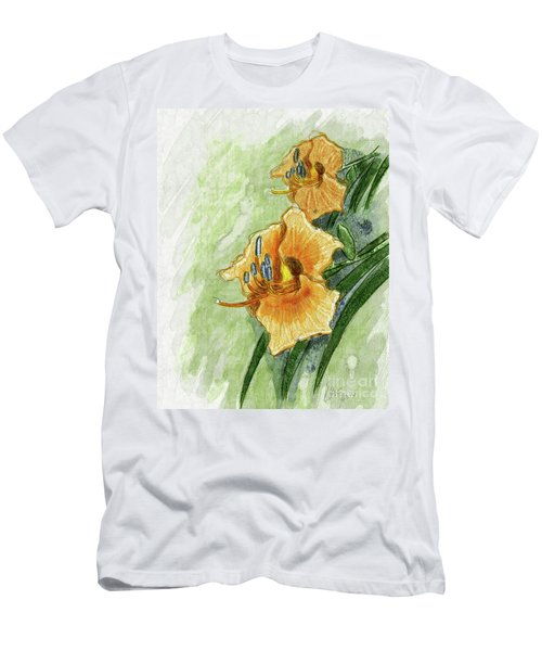 Daylily #2 Men's T-Shirt (Athletic Fit)