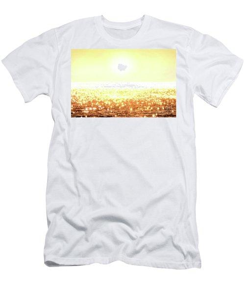 Rose Gold Diamonds Men's T-Shirt (Athletic Fit)