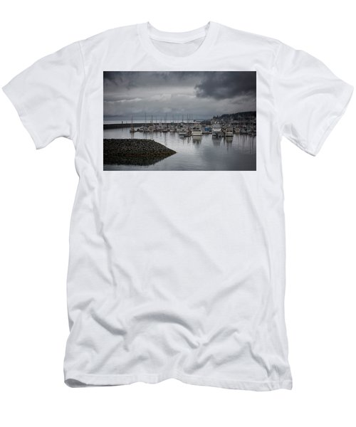 Discovery Harbour Men's T-Shirt (Slim Fit) by Randy Hall