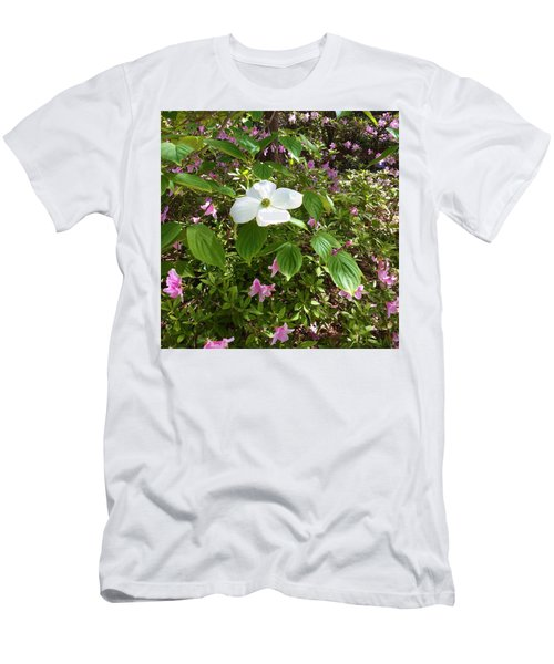 Dogwood Men's T-Shirt (Slim Fit) by Kay Gilley