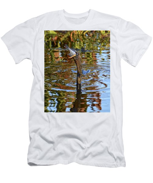 Down The Hatch Men's T-Shirt (Slim Fit) by Carol Bradley