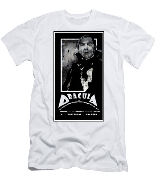 Dracula Movie Poster 1931 Men's T-Shirt (Athletic Fit)