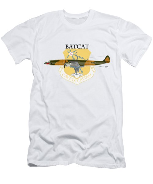 Ec-121r Batcat 6721498 Men's T-Shirt (Athletic Fit)