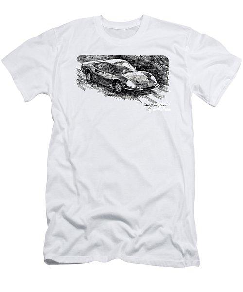 Ferrari Dino Men's T-Shirt (Athletic Fit)